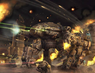 Battletech - Technical Readout 3145 by Shimmering-Sword