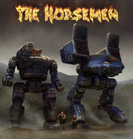 Battletech - The Horsemen by Shimmering-Sword
