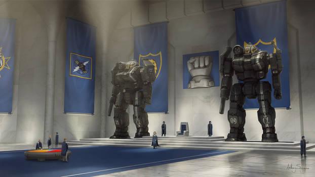 Battletech - Lyran Royal Court by Shimmering-Sword