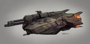 Commission - Klingon Tank Destroyer