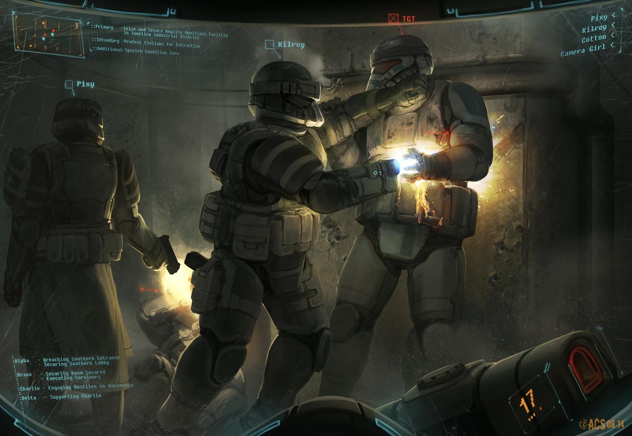 Commission - Night Raid