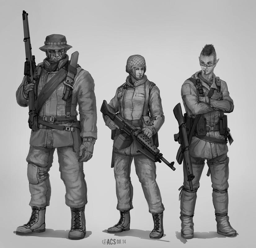 Commission - Cold War Fantasy by Shimmering-Sword