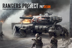 Rangers Project Patreon Launch by Shimmering-Sword