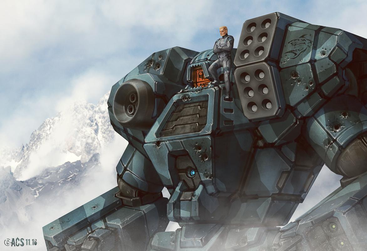 Battletech - Kodiak by Shimmering-Sword