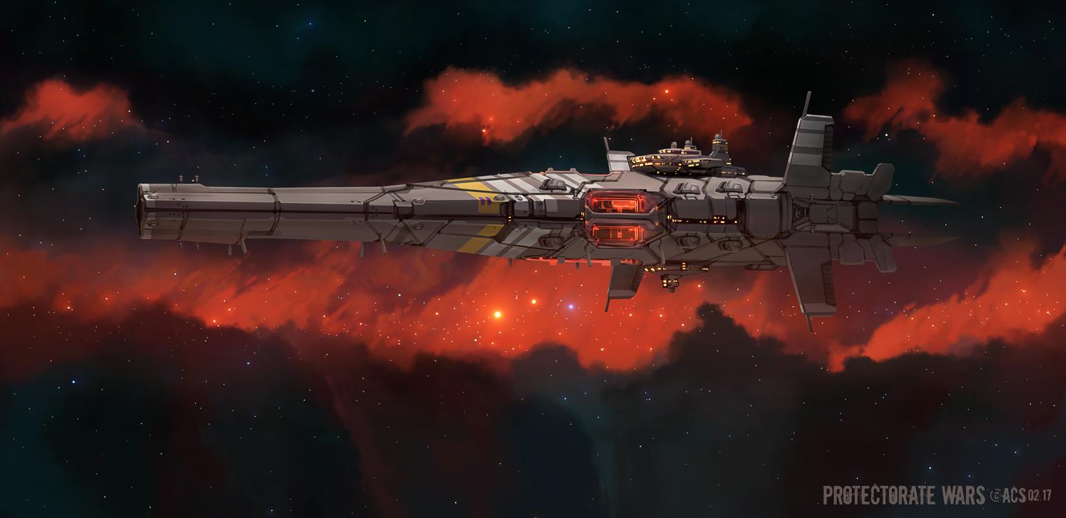 Protectorate Assault Cruiser