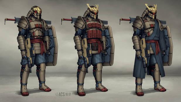 Commission - Samurai Armor by Shimmering-Sword