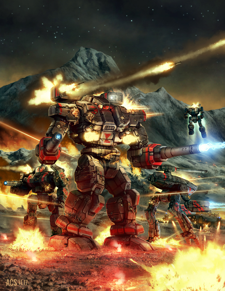 Battletech - Wolf's Dragoons by Shimmering-Sword