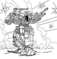 Battletech - Rifleman by Shimmering-Sword