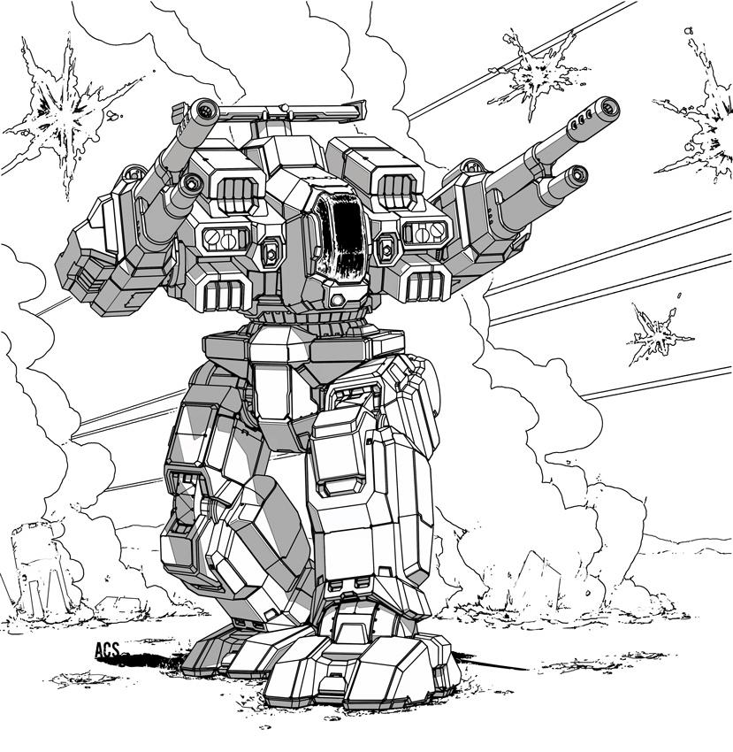 Battletech - Rifleman