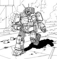 Battletech - Wolverine by Shimmering-Sword