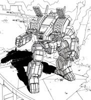 Battletech - Archer by Shimmering-Sword