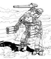Battletech - Classic Marauder by Shimmering-Sword