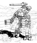 Battletech - Classic Marauder