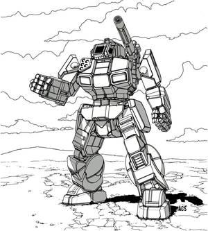 Battletech - Shadow Hawk