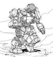 Battletech - Thunderbolt by Shimmering-Sword