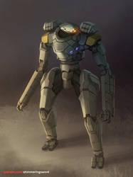 Ranger Neural Mech by Shimmering-Sword