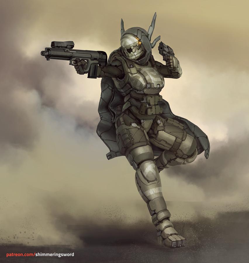 Elemental Gunslinger by Shimmering-Sword