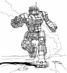 Battletech - Commando by Shimmering-Sword