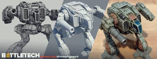 Battletech - Shadowcat Process by Shimmering-Sword