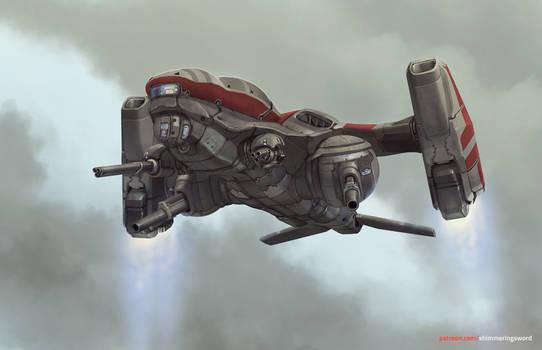 Prostor VTOL Gunship