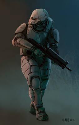 GenoMod Soldier