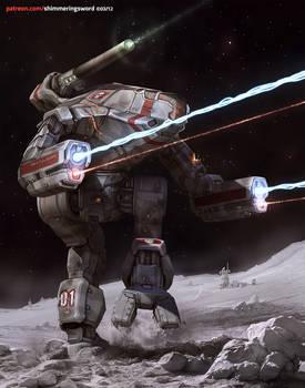 Battletech - Gray Death Marauder