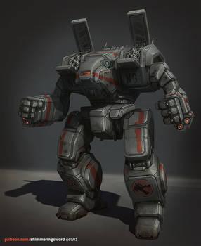 Battletech - Wolf's Dragoons Archer
