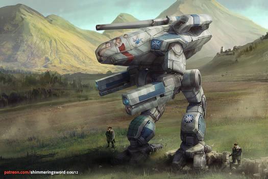 Battletech - Highlander Marauder