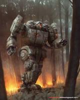 Battletech - Axman Hodag