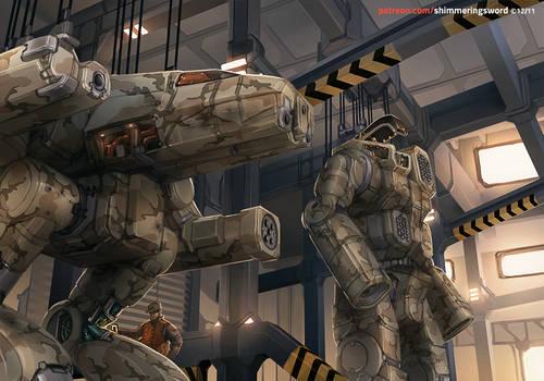 Battletech - Mechbay