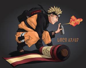 Naruto Colab Sprayin