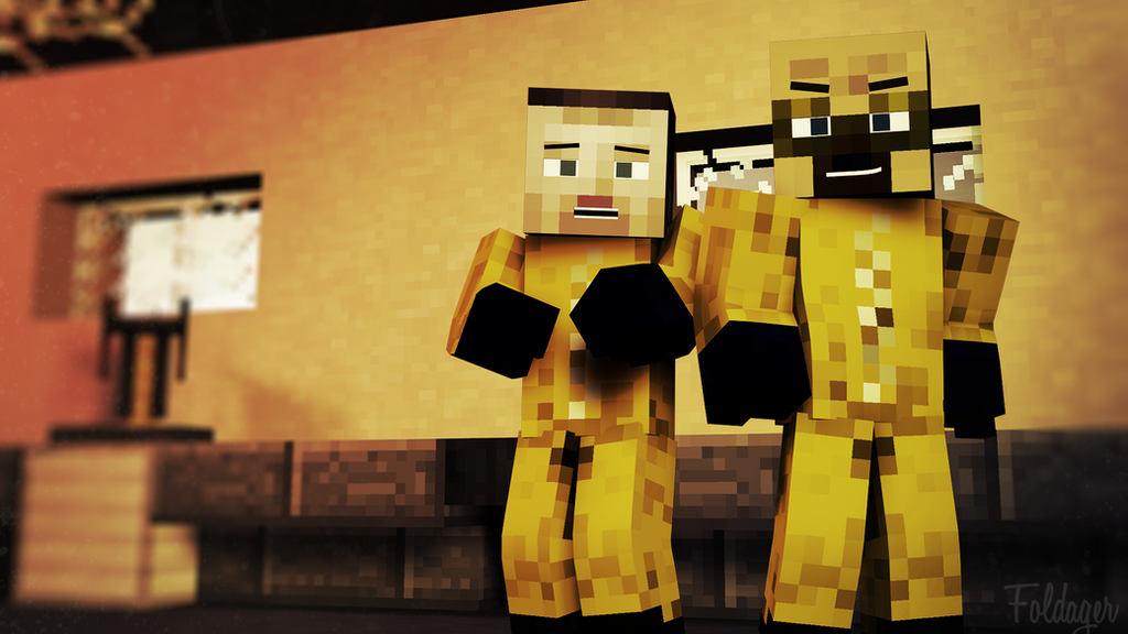 Breaking Bad Minecraft Wallpaper 1920x1080 By TheFoldager