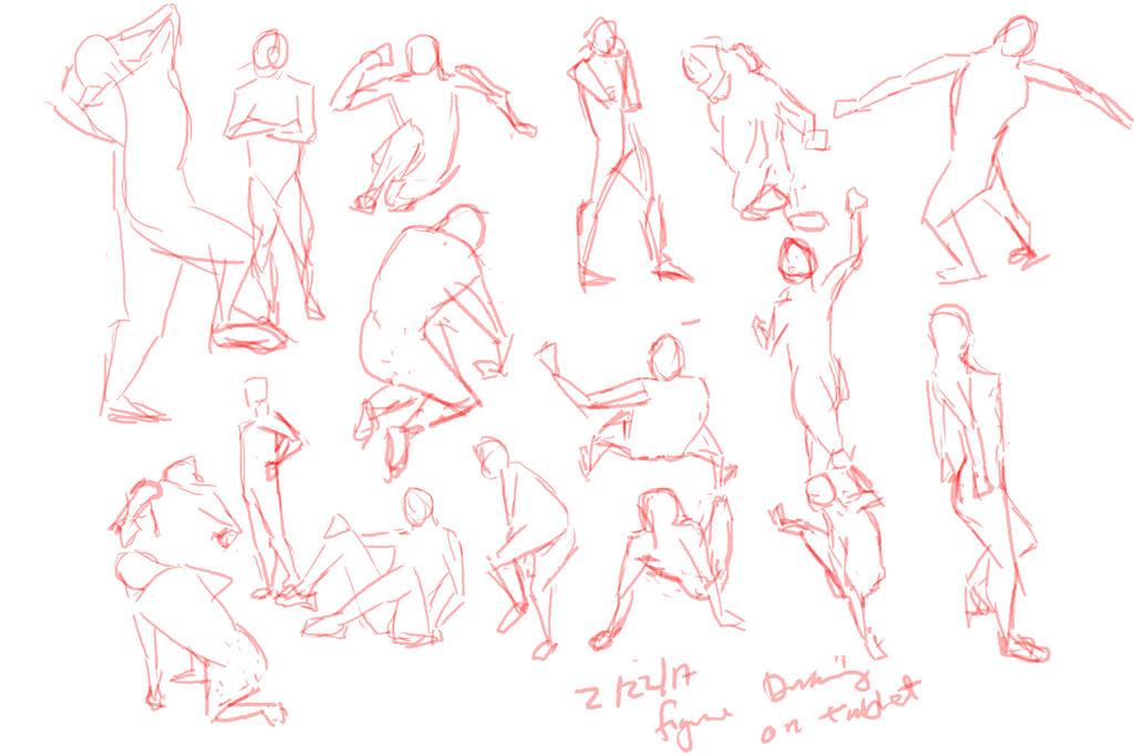 0222017 Figure Drawing Tablet Study by gooolgi
