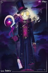 Lun DeNoir (Mr. Moon) by Sylladexter