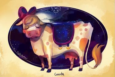 Gouda the Cow