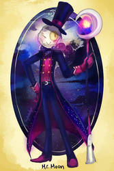Mr.Moon Alt. Pose by Sylladexter