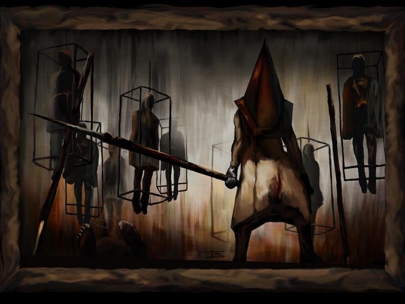 Silent Hill Pyramid Head by antarion on DeviantArt