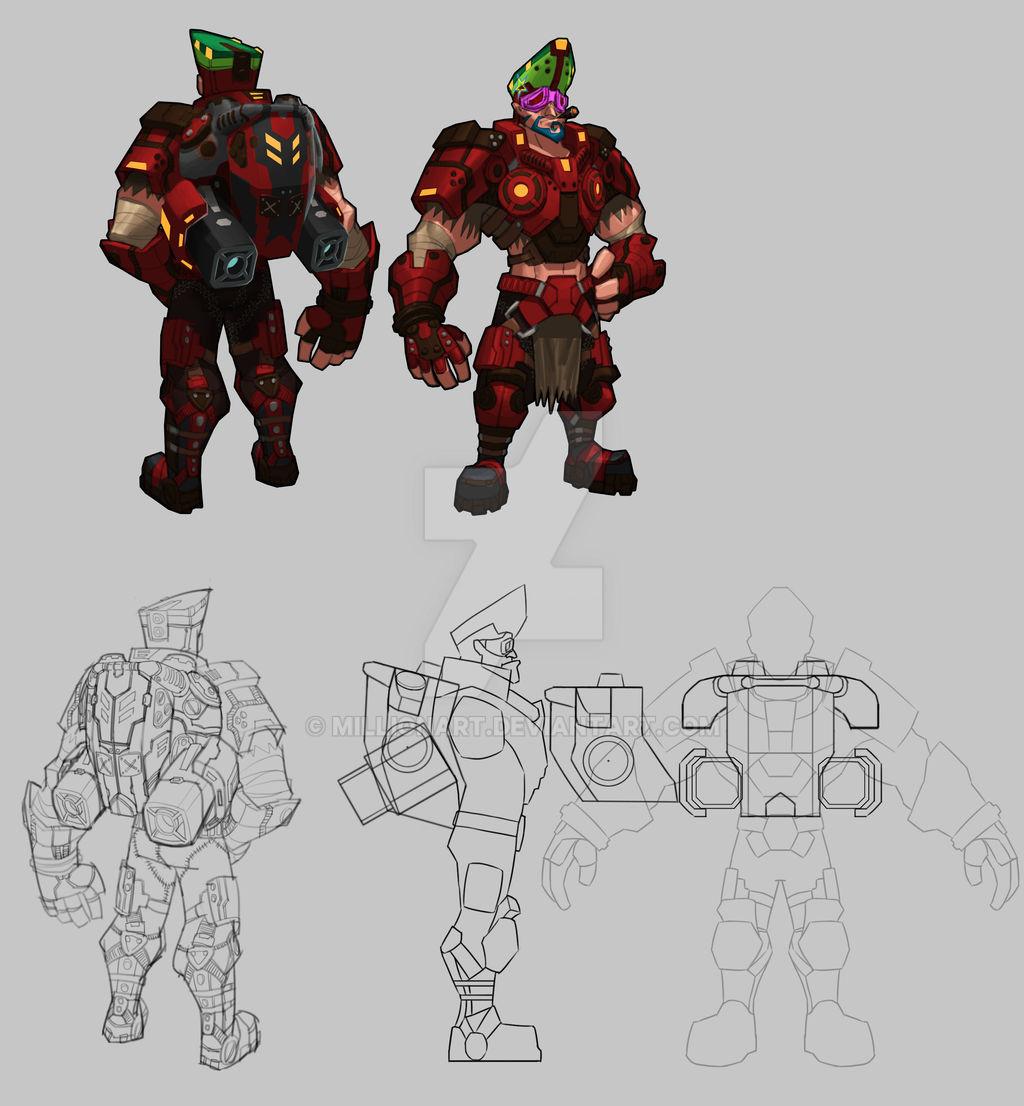 Bounty Hunter: Black Dawn - Mercenary leader