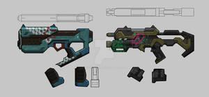 Bounty Hunter: Black Dawn - Smg