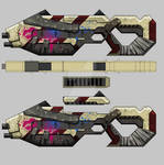 Bounty Hunter: Black Dawn - Assault rifle 03