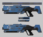 Bounty Hunter: Black Dawn - Assault rifle 02