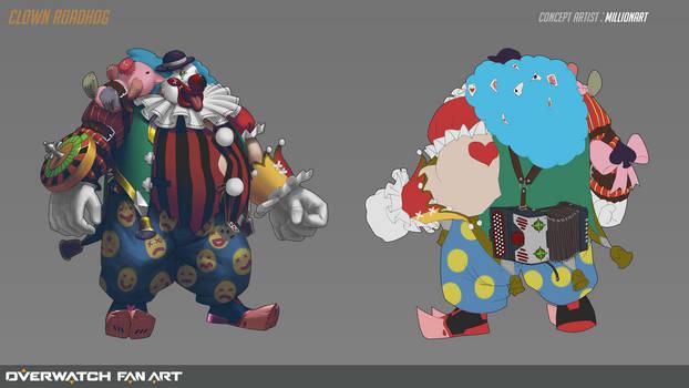 Clown RoadHog Skin