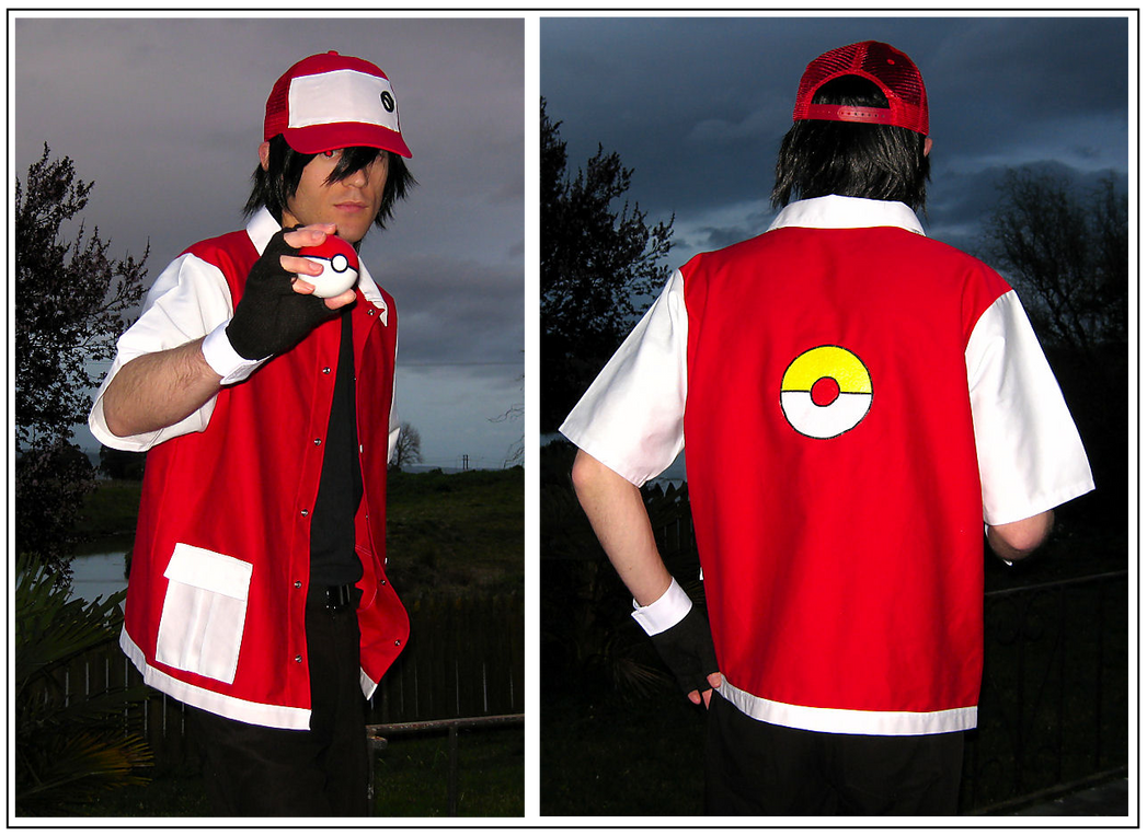 Trainer Red Cosplay by paul375