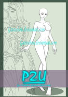 P2U FEMALE BASE [ OPEN ] by GattoAdopts