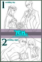 Wedding YCH 6 [ Auction ] [CLOSED] by GattoAdopts