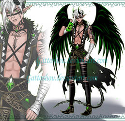 Bishie ADOPT 199 [Auction] [CLOSED] by GattoAdopts