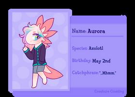 Aurora Application - Creature Crossing