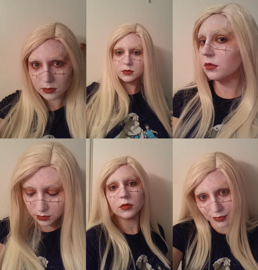 Princess nuala makeup Hellboy 2 by SuperNinjaDuck