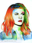 First artwork of 2014: Hayley Williams