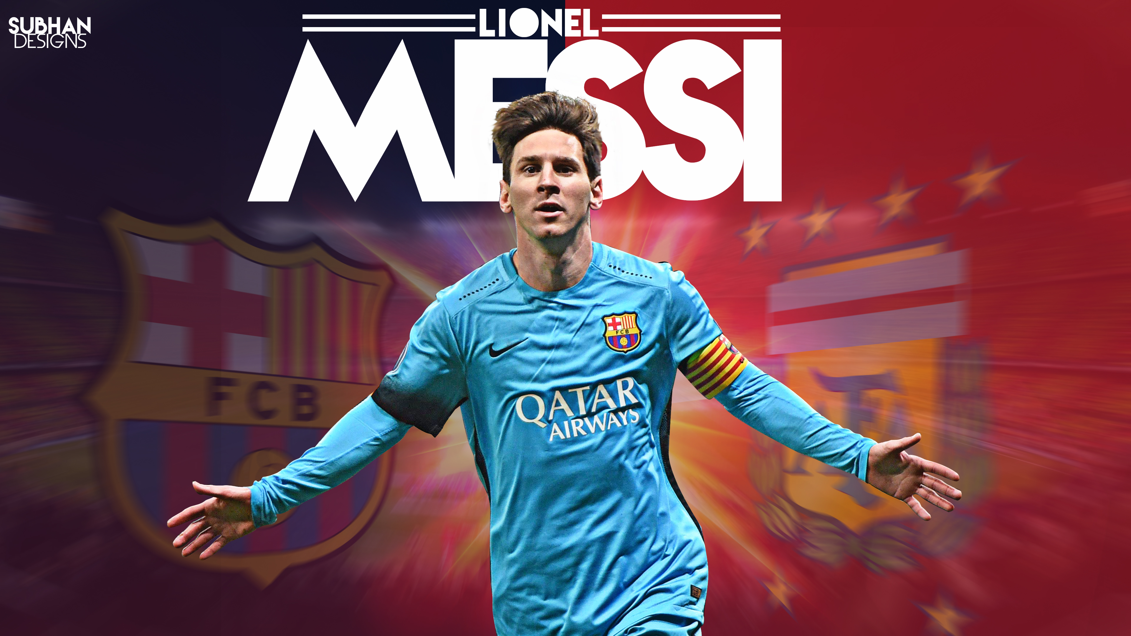 lionel messi 2016 wallpaper 4k by subhan22 on deviantart